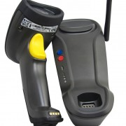 Newland HR1550 Wireless ασύρματο barcode scanner me basi - barcode.gr